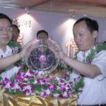 2007年南京固城湖螃蟹首次进入地铁开幕仪式